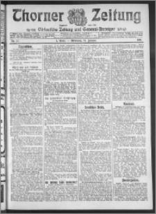 Thorner Zeitung 1911, Nr. 21 1 Blatt