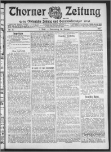 Thorner Zeitung 1911, Nr. 22 1 Blatt