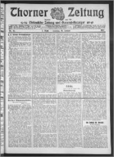 Thorner Zeitung 1911, Nr. 25 2 Blatt
