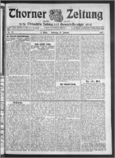 Thorner Zeitung 1911, Nr. 25 3 Blatt