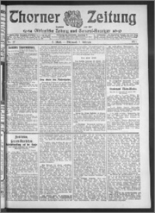 Thorner Zeitung 1911, Nr. 27 2 Blatt