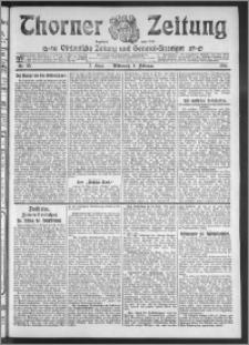 Thorner Zeitung 1911, Nr. 33 2 Blatt