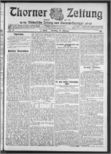 Thorner Zeitung 1911, Nr. 37 1 Blatt