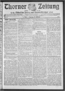 Thorner Zeitung 1911, Nr. 37 2 Blatt