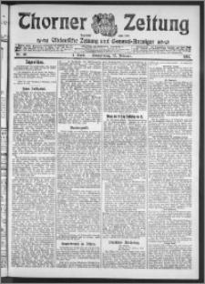 Thorner Zeitung 1911, Nr. 46 1 Blatt