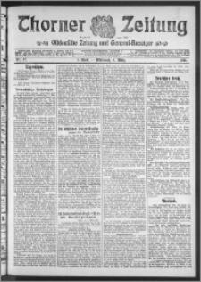 Thorner Zeitung 1911, Nr. 57 1 Blatt