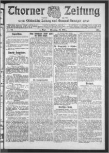 Thorner Zeitung 1911, Nr. 74 1 Blatt