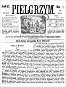 Pielgrzym, pismo religijne dla ludu 1874 nr 1