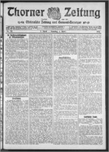 Thorner Zeitung 1911, Nr. 79 3 Blatt