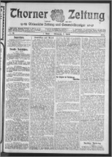 Thorner Zeitung 1911, Nr. 81 1 Blatt