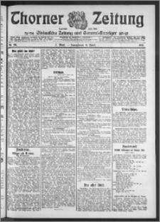 Thorner Zeitung 1911, Nr. 84 2 Blatt