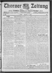 Thorner Zeitung 1911, Nr. 86 2 Blatt