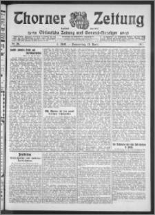 Thorner Zeitung 1911, Nr. 88 2 Blatt