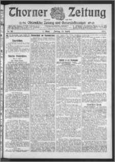 Thorner Zeitung 1911, Nr. 89 1 Blatt