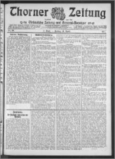 Thorner Zeitung 1911, Nr. 89 2 Blatt