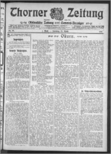 Thorner Zeitung 1911, Nr. 90 1 Blatt