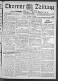 Thorner Zeitung 1911, Nr. 90 2 Blatt