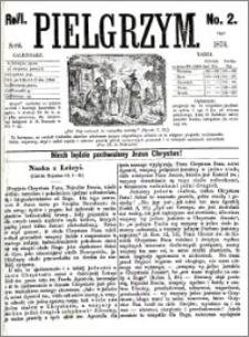 Pielgrzym, pismo religijne dla ludu 1874 nr 2