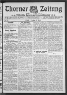 Thorner Zeitung 1911, Nr. 93 1 Blatt
