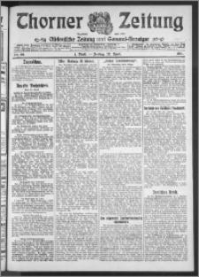 Thorner Zeitung 1911, Nr. 99 1 Blatt