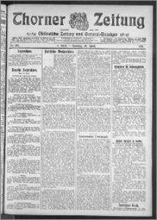 Thorner Zeitung 1911, Nr. 101 1 Blatt