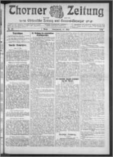 Thorner Zeitung 1911, Nr. 112 1 Blatt