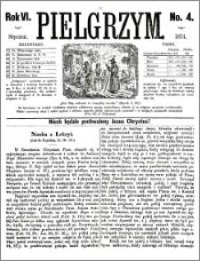 Pielgrzym, pismo religijne dla ludu 1874 nr 4