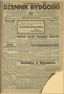 Dziennik Bydgoski, 1931, R.25, nr 1