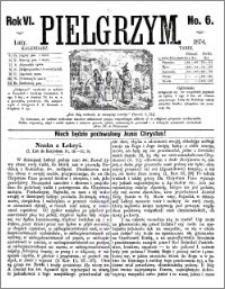 Pielgrzym, pismo religijne dla ludu 1874 nr 6