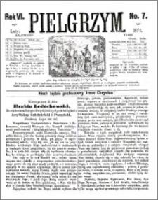 Pielgrzym, pismo religijne dla ludu 1874 nr 7