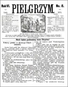Pielgrzym, pismo religijne dla ludu 1874 nr 8
