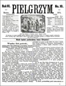 Pielgrzym, pismo religijne dla ludu 1874 nr 10