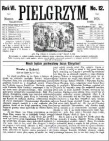 Pielgrzym, pismo religijne dla ludu 1874 nr 12