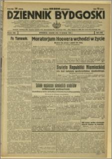 Dziennik Bydgoski, 1931, R.25, nr 185