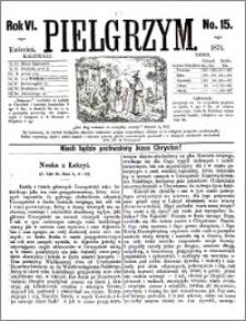 Pielgrzym, pismo religijne dla ludu 1874 nr 15