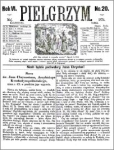 Pielgrzym, pismo religijne dla ludu 1874 nr 20