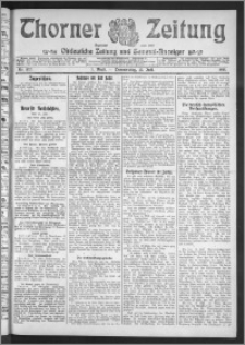 Thorner Zeitung 1911, Nr. 162 1 Blatt