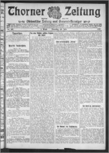 Thorner Zeitung 1911, Nr. 166 1 Blatt