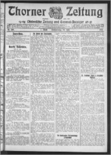 Thorner Zeitung 1911, Nr. 168 1 Blatt
