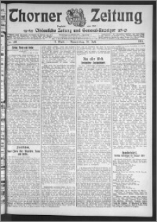 Thorner Zeitung 1911, Nr. 168 2 Blatt