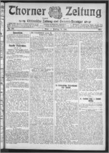 Thorner Zeitung 1911, Nr. 169 1 Blatt