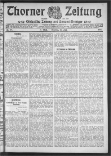 Thorner Zeitung 1911, Nr. 171 2 Blatt