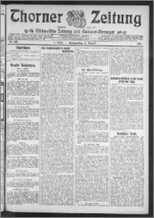 Thorner Zeitung 1911, Nr. 180 1 Blatt