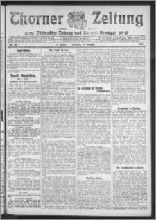 Thorner Zeitung 1911, Nr. 181 1 Blatt