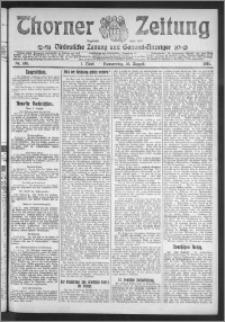 Thorner Zeitung 1911, Nr. 186 1 Blatt
