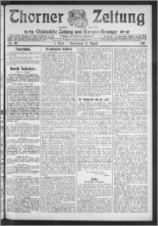 Thorner Zeitung 1911, Nr. 188 1 Blatt