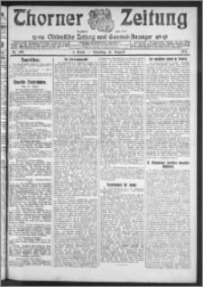 Thorner Zeitung 1911, Nr. 189 1 Blatt