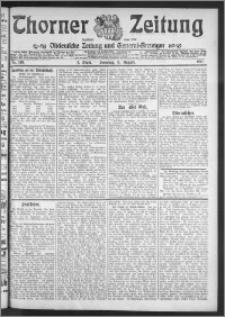 Thorner Zeitung 1911, Nr. 189 3 Blatt