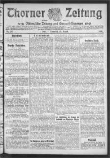 Thorner Zeitung 1911, Nr. 190 1 Blatt