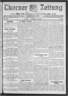 Thorner Zeitung 1911, Nr. 195 1 Blatt